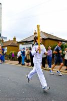 Olympic Torch bearer by SeraphX82
