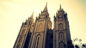 Salt Lake City LDS Temple by mandreab
