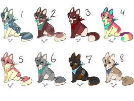 Cheap Point adopts! - CLOSED - by xWolfieJoeyx