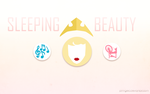 DISNEY MINIMALIST: Sleeping Beauty by johngreeko