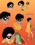 TT Year One: Dick Grayson by Blooming-Pinguicula