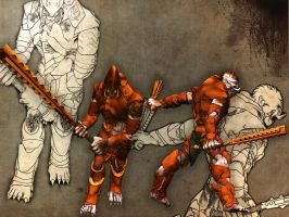 Nearly dead: Giant empire brutes by mayajid