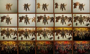GOW3 Painting Process by VanZanto