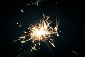 sparklers by elmiry