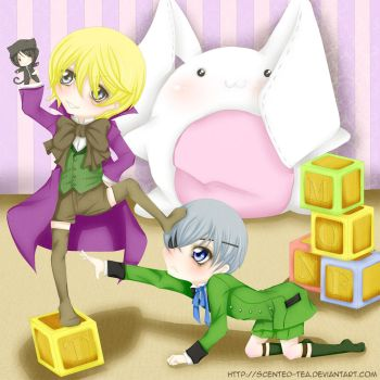 Ciel and Alois by Scented-Tea