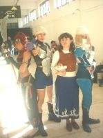 Zelda cosplay group 2005 by Daelyth