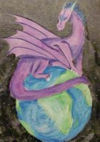 43. Guardian of a Dying World by Dark-Crescent-Studio