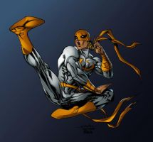 Iron Fist - Timothy Brown colors by SpiderGuile