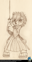 Commission Sketch for Jimmuu by PenguinEXperience