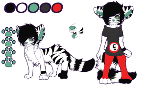: Reference Sheet Commission : Liitunen by Homohelvetti