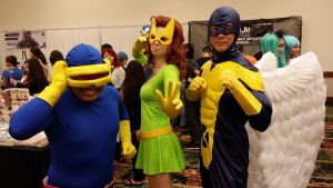 The original X-men at Oni-con by The-Astromech