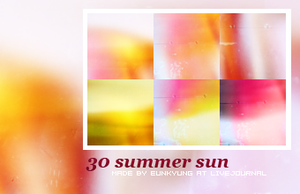 summer sun by Bourniio
