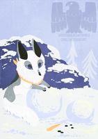 Fox calendar illustration 13 by Chigle