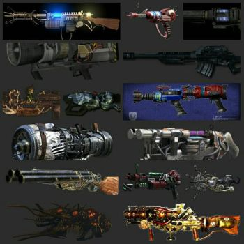 Wonder Weapons COD Zombies Pt 1 by gears123fights