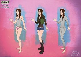 Polly outfit layers sheet by GalooGameLady