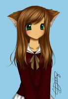cat girl by candyd18