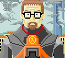 Gordon Freeman by DylanBaugh