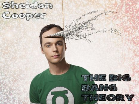 Sheldon Cooper, The Big Bang Theory by bunnynko