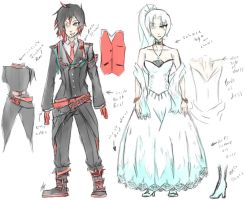 Ruby Weiss Clothes by Huerta-s-Honoka