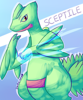 Sceptile used Dragon Claw! by Southrobin
