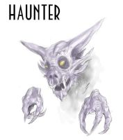 Haunter sketch by Jazon19
