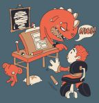 THE DRAWING AND THE DRAWER by Bisparulz