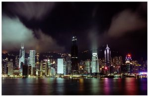 A night in Hong Kong by araki-reina