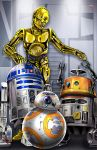Rebel Droids Assemble! by TyrineCarver