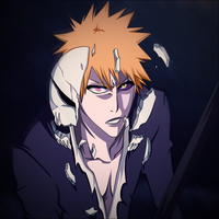 Ichigo Broken Mask by BlackAnime15