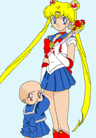 Sailor moon and you base by HeroHeart001