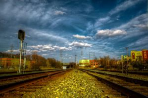 Train Station HDR by joelht74