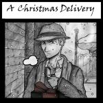A Christmas Delivery - Comic Cover by ajbluesox
