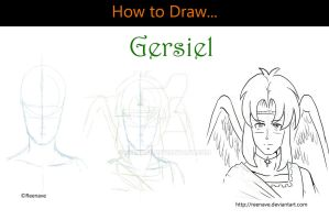 How to Draw - Gersiel by Reenave