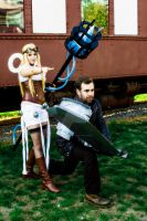 Rugged Garen and Hextech Janna 03 by kelvin-oh89