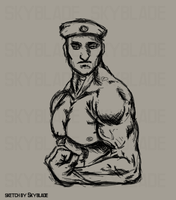 Soldier of muscle :D by SkybladeRus