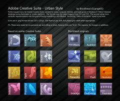 Adobe Creative Suite Icons by glange65