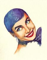 Leslie Caron by azulmint