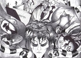 The world of Caligari by aliencatx
