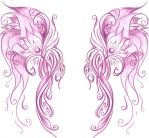 Faces or Wings by jade-magnolia