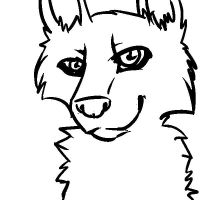 free lineart mspaint by EmalizDaCatX3
