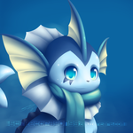 Vaporeon ID : Commission for Farshift by streetdragon95