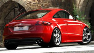 2009 Audi TTS Coupe (Gran Turismo 5) by Vertualissimo