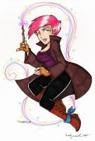 tonks commission by katiecandraw