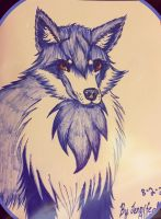 Blue Wolf by ElectricNite