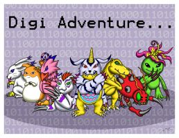 Digimon Adventures by MischievousPooka