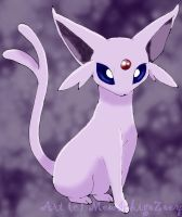 Espeon +colored+ by MewIchigoZoey