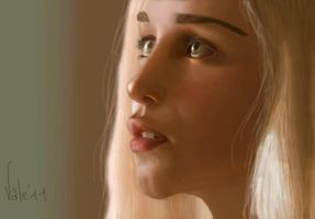 The Khaleesi by Valeharris
