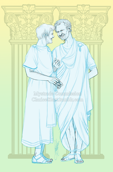 Mystrade Roman Commission by RedPassion