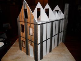 Second Foam Core Dollhouse WIP 8 right and back by kayanah