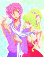Lelouch And C.C. Gimp Edit by fataleflare